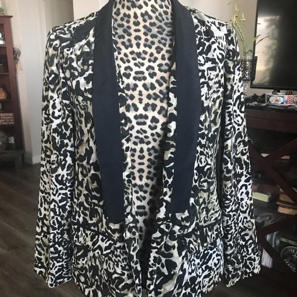 Mossimo Supply Co. Jackets & Blazers - Leopard print blazer